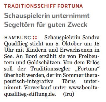 Hamburger Abendblatt vom 1.10.2014