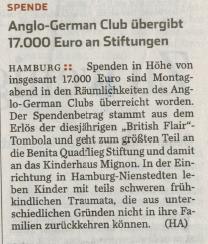 Hamburger Abendblatt vom 12.11.2013