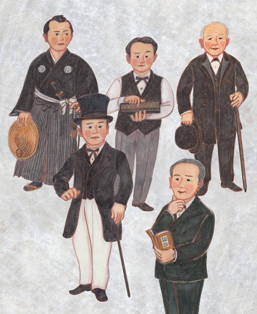 渋沢栄一の装い(2015年制作)