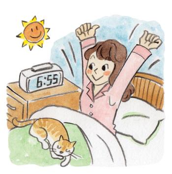 i02_いつもより5分早起き