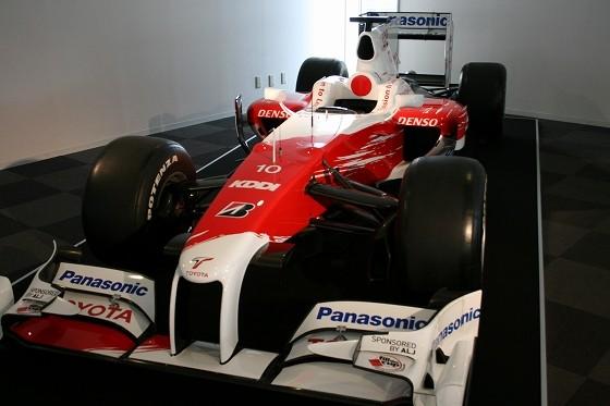 2009年トヨタ・TF109F1日本グランプリ出場車