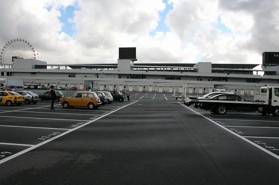 受付駐車場にはすでに参加車輌が集まっておりました。