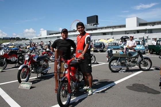 『ワクワクするバイクだね』と鈴木亜久里さん  そう 大切なキーワードは『ワクワク』なんですね!