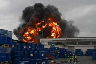 Feuer Worlee 2003