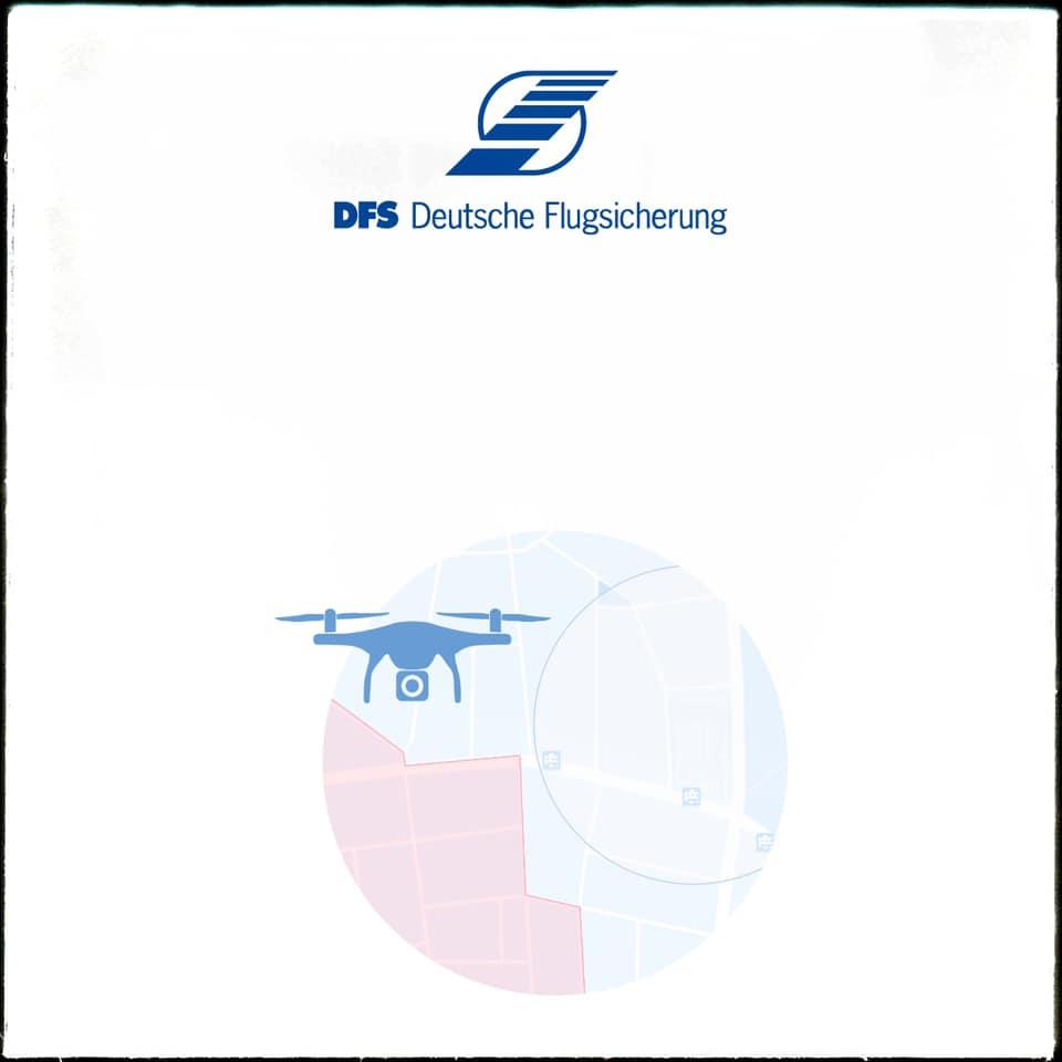 Die Drohnen-App der Deutschen Flugsicherung (DFS)