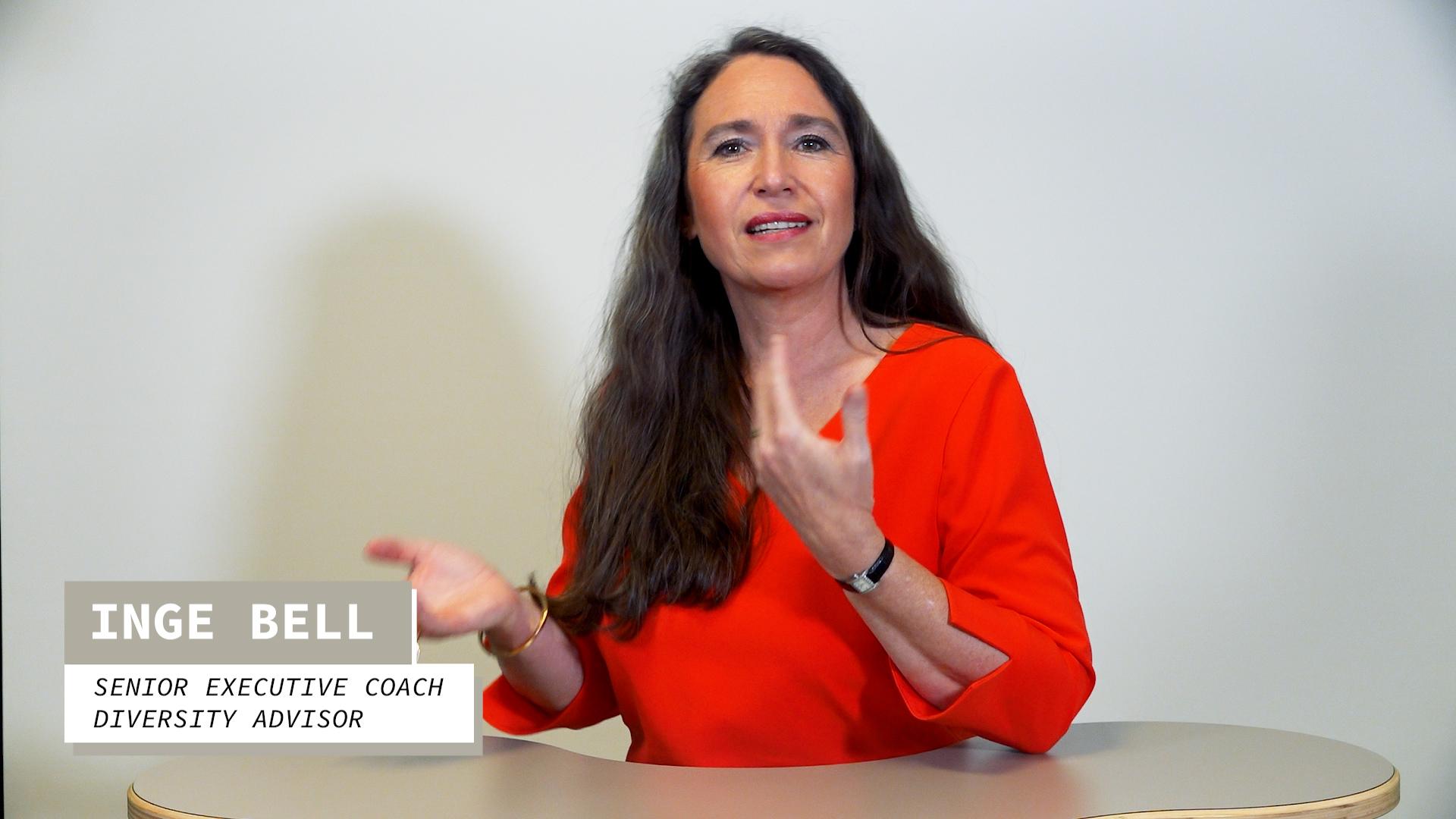 """Studio-Aufnahme: Video-Statement von Inge Bell zu """"Diversity"""""""