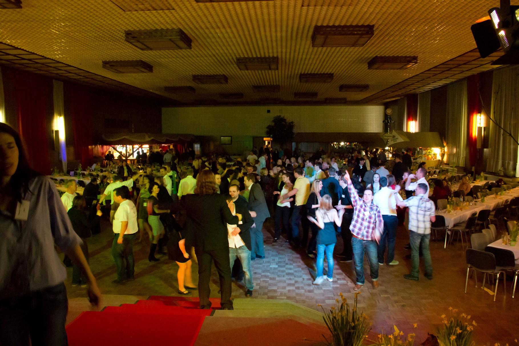Abschlussfest 10. Klasse 2013 knapp 400 Personen.