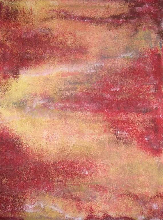 """Art-Nr. 029 - Farbspiel """"Bach"""" / Acryl auf Leinwand"""