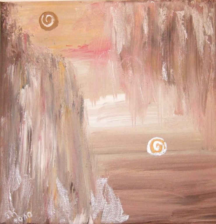 Art-Nr. 32 - Afrika II / Acryl auf Leinwand 20 x 20 cm