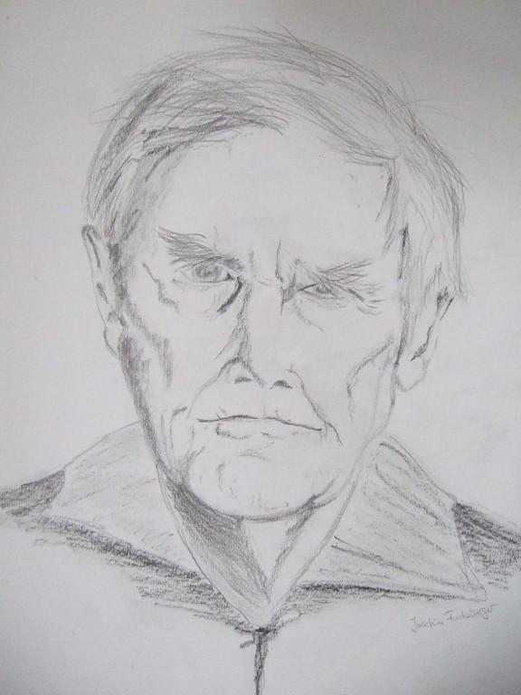 ART-Nr. 37 - Portrait IV / Bleistiftzeichnung