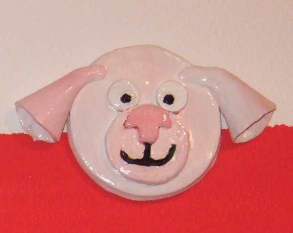 Art-Nr. 010 - Schwein - Keramiplast