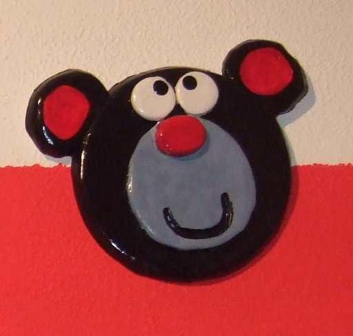 Art-Nr. 001 - Bär dunkel - Keramiplast