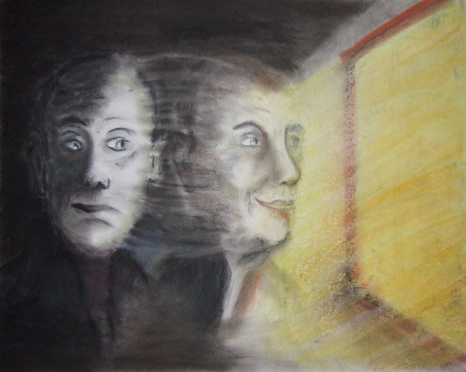ART-Nr. 42 - Licht - Pastellkreide