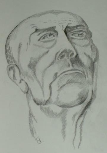 Art-Nr. 018 - Portrait II / Bleistift