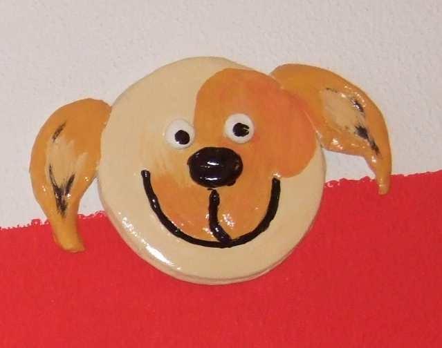 Art-Nr. 007 - Hund - Keramiplast