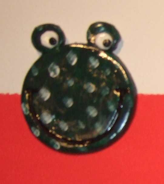 Art-Nr. 005 - Frosch dunkel - Keramiplast