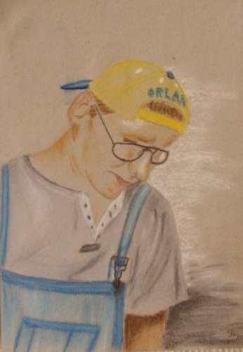 Art-Nr. 012 - Portrait I / Pastellkreide