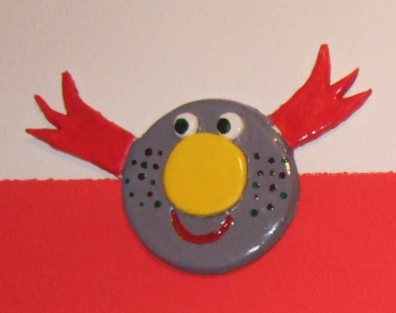 Art-Nr. 011 - Vogel - Keramiplast