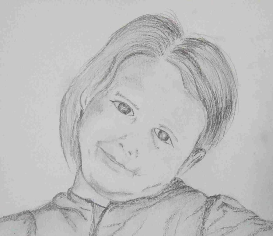 ART-Nr. 36 - Portrait III / Bleistiftzeichnung