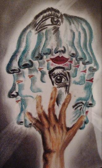 Art-Nr. 017 - Nasen / Pastellkreide