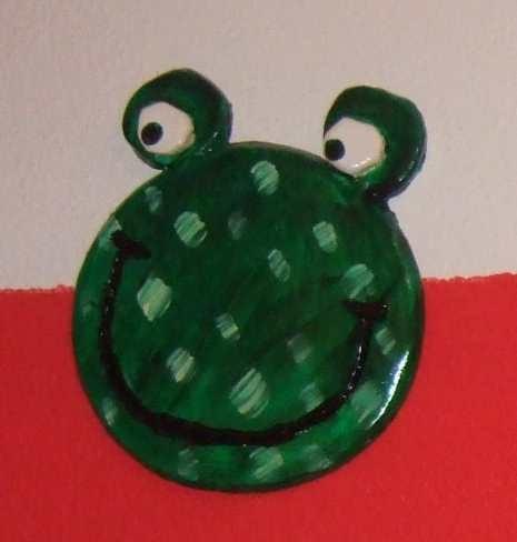 Art-Nr. 006 - Frosch hell - Keramiplast