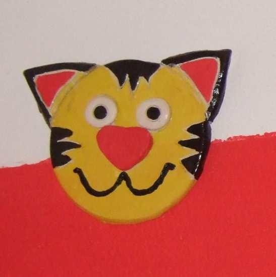 Art-Nr. 008 - Katze - Keramiplast