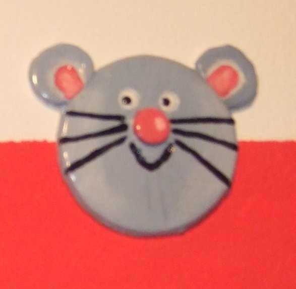 Art-Nr. 009 - Maus - Keramiplast