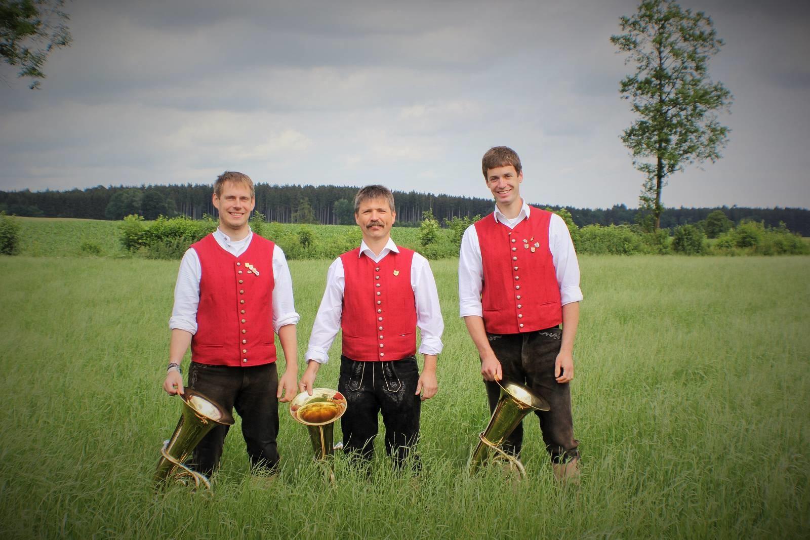 von links: Peter Wesselak, Wolfgang Walter, Florian Schuhwerk