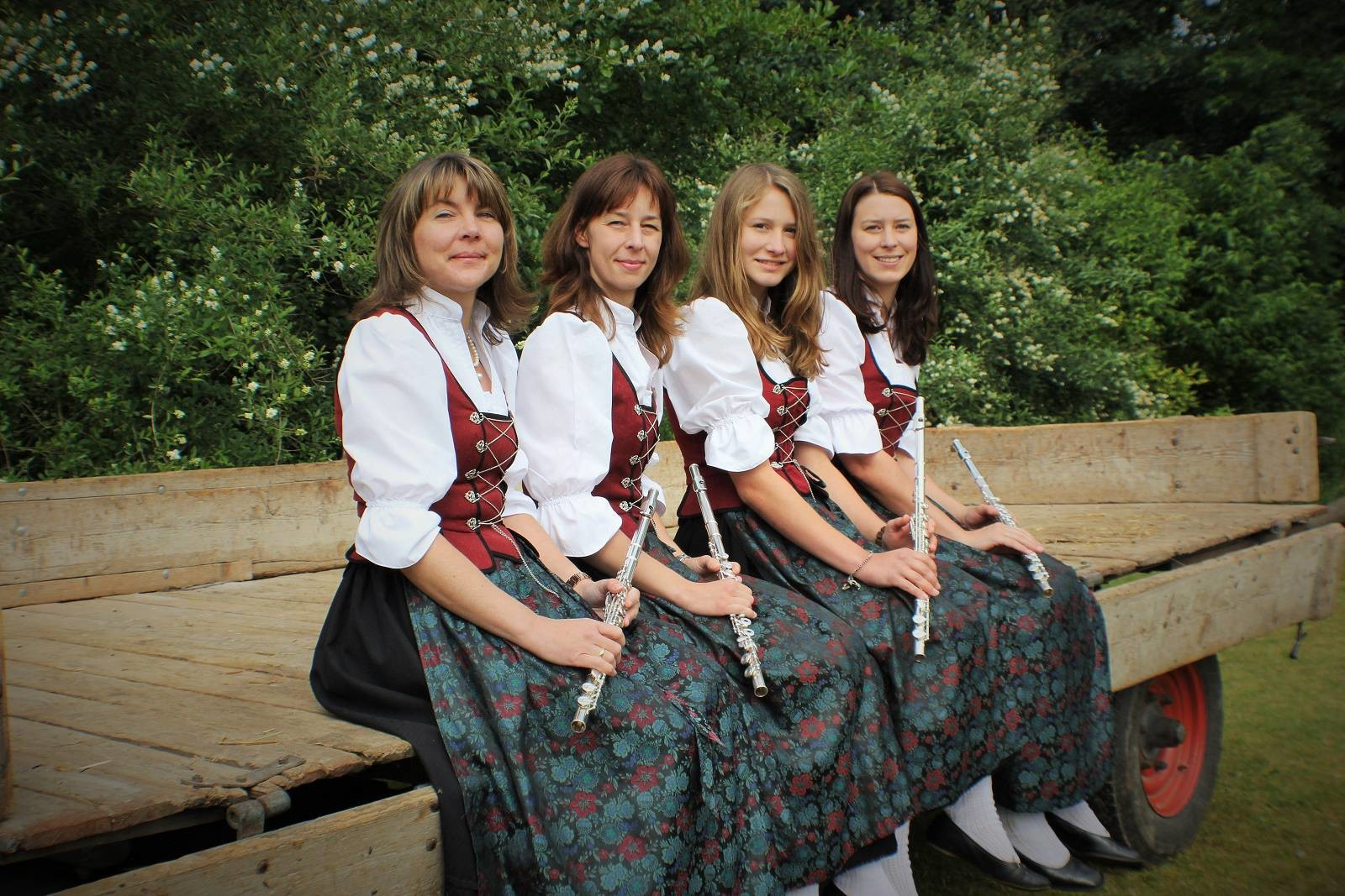 von links: Andrea Kirchmayer, Viktoria Handfest, Sandra Staiger, Maria Weber