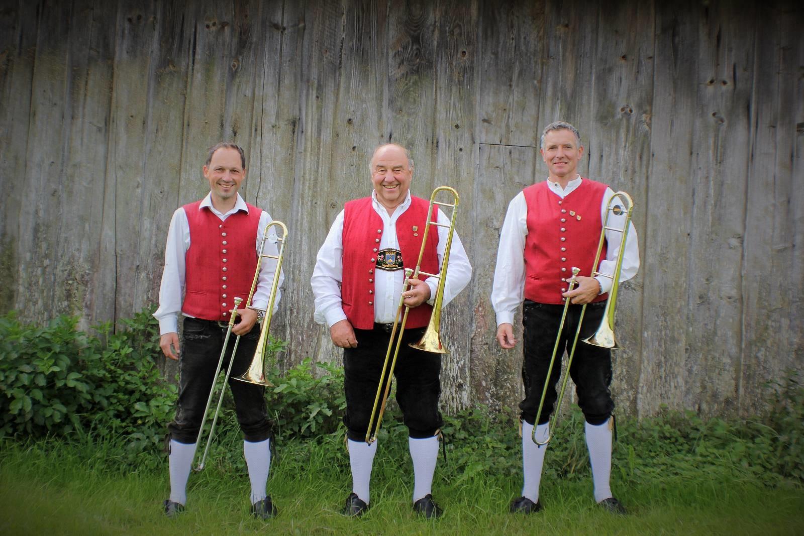 von links: Peter Dirr, Georg Demmeler, Max Zinsler