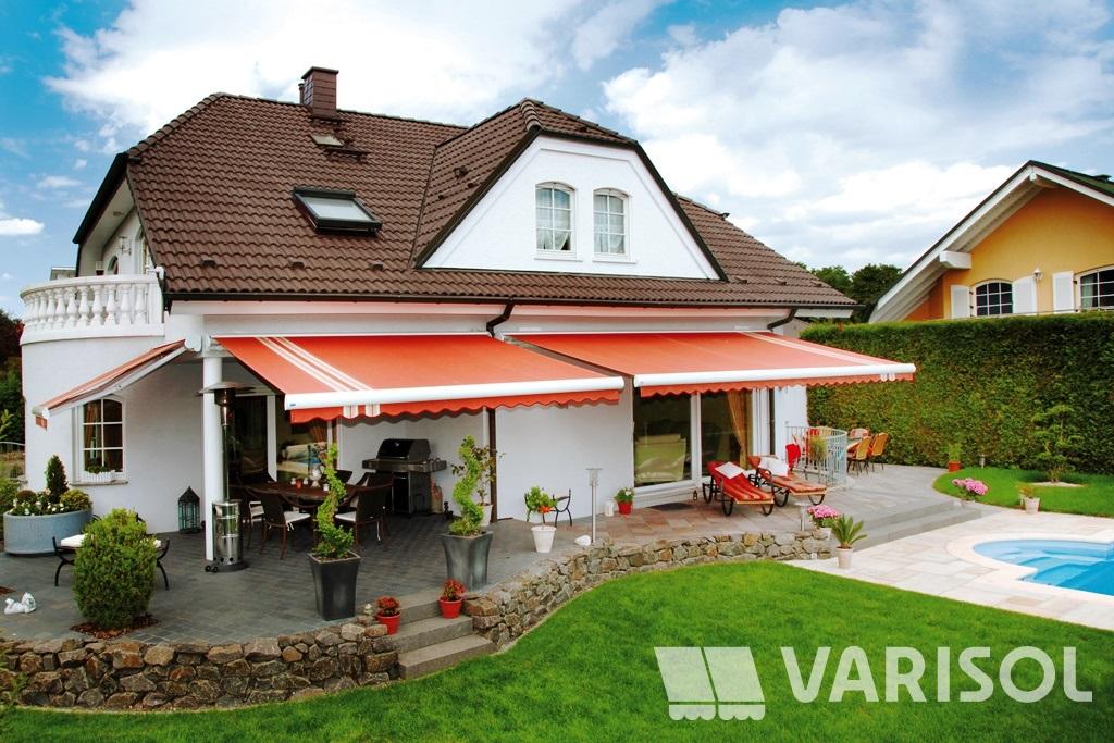 Markisen der ideale Sonnenschutz für Terrasse Balkon Wintergarten