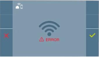 Error en la configuración de WiFi DUOX