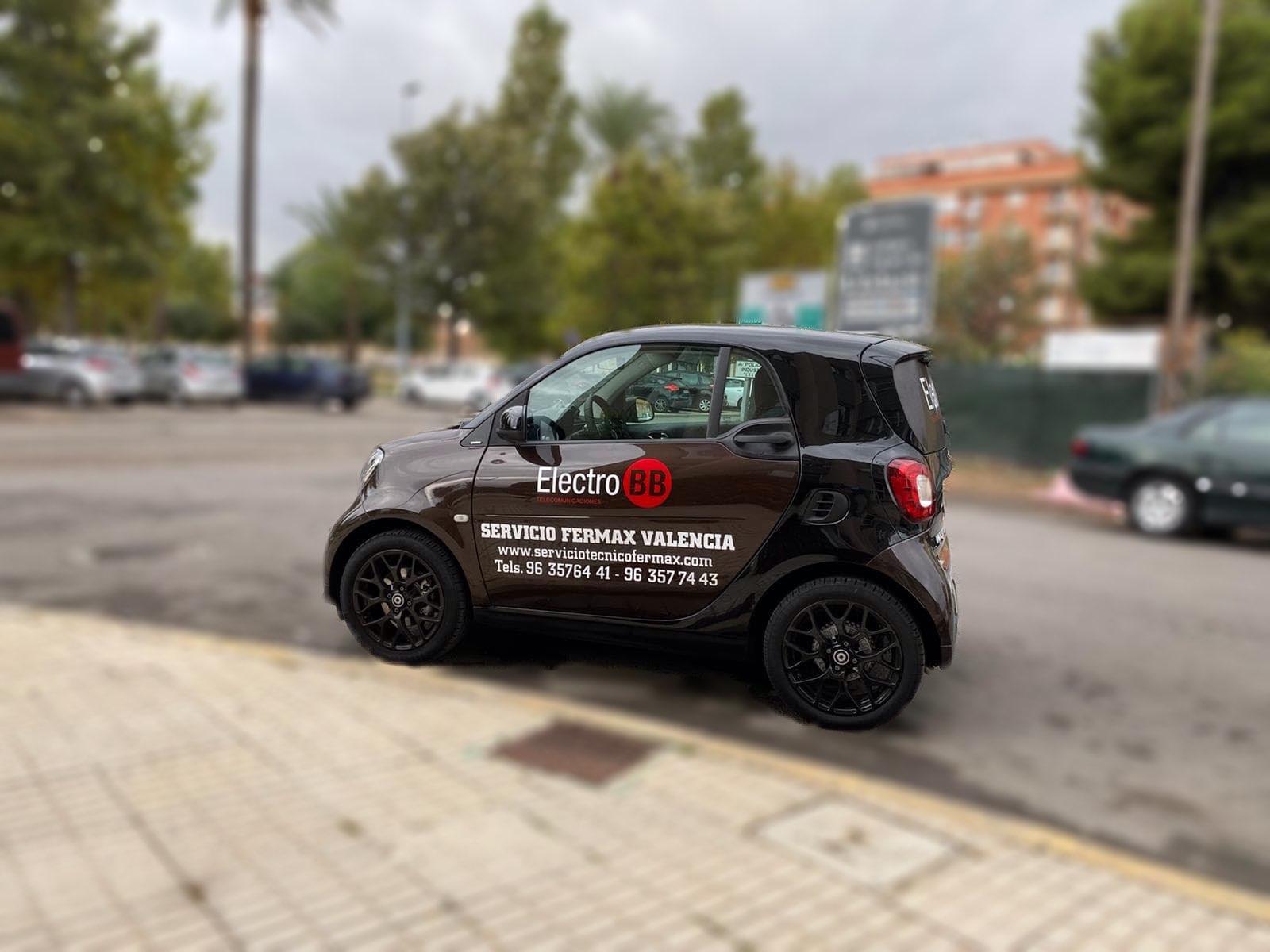 El nuevo vehículo del departamento de Asistencia Técnica
