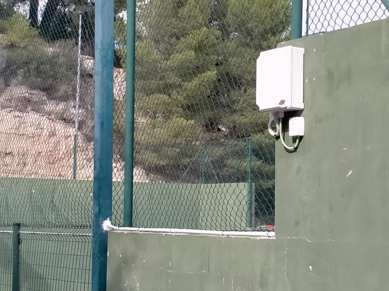 Control de accesos Nearkey de Fermax para una instalación deportiva