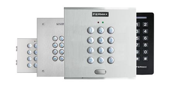 Gamas de teclado para el Control de Acceso