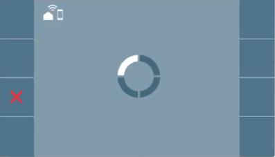 Monitor sincronizándose con la app