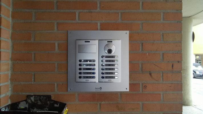 Instalación videoportero en Puerto de Sagunto