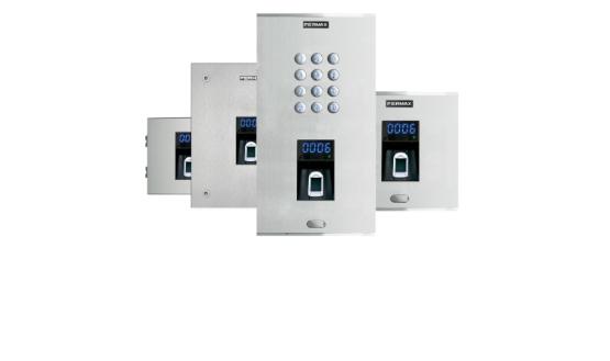 Gama de Control de Acceso biométrico