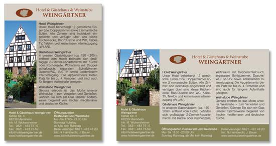 Anzeigen Weingärtner