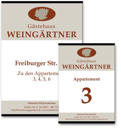 Schilder Weingaertner