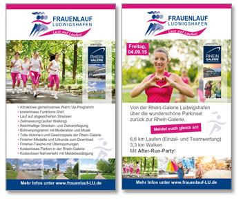Flyer Frauenlauf