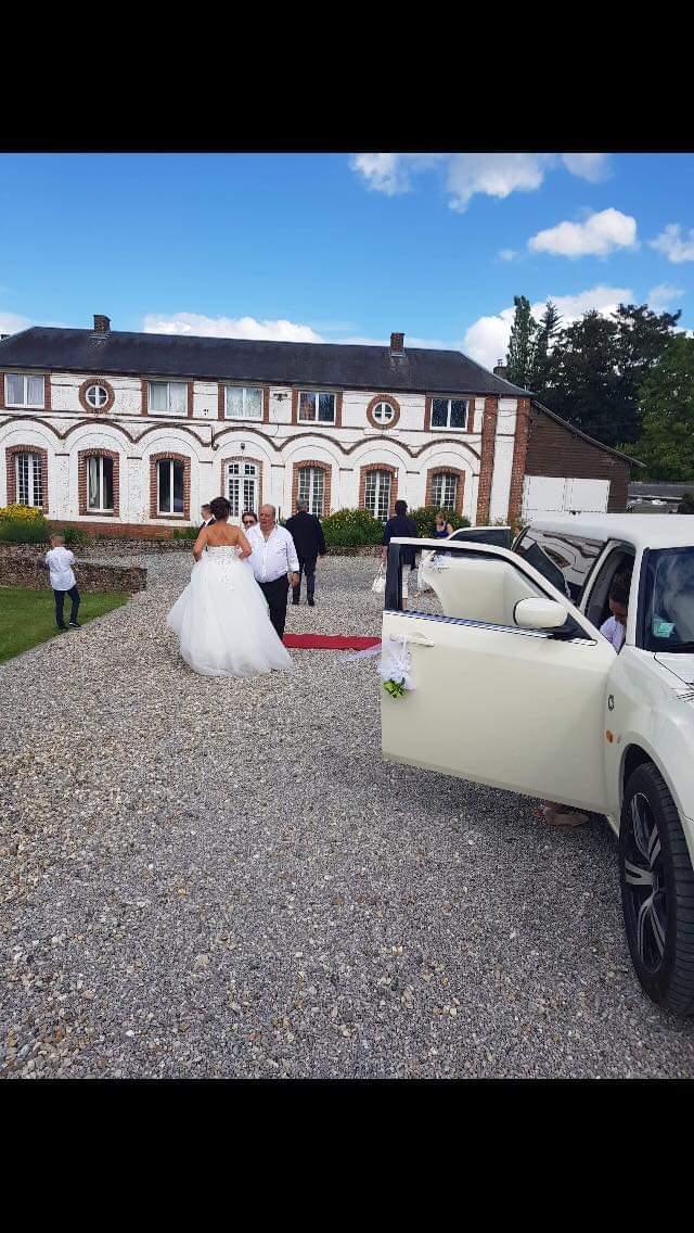 Arrivée mariés