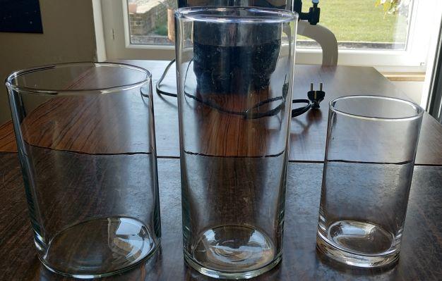 Dizaine vases plusieurs tailles