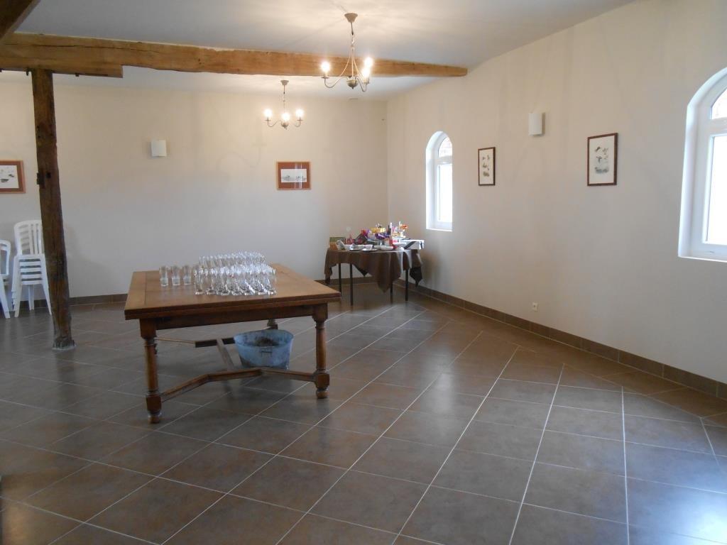 Salle de réception du Campreux.