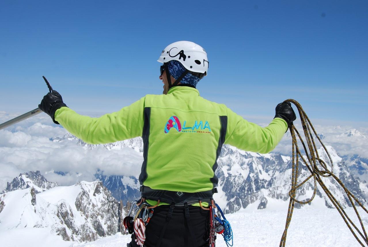 Juin 2013 Mont Blanc - Philippe