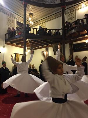 Bursa  メヴラーナ旋回舞踊