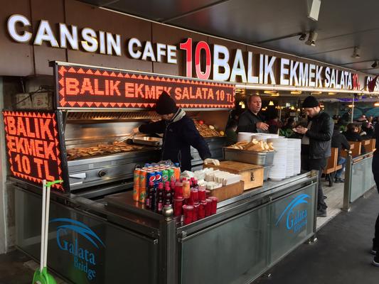İstanbul  名物サバサンド