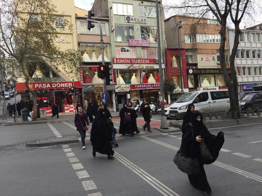 İstanbul  トルコ流横断方法