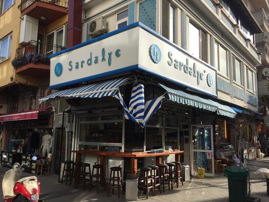 Çanakkale  サーディン料理店