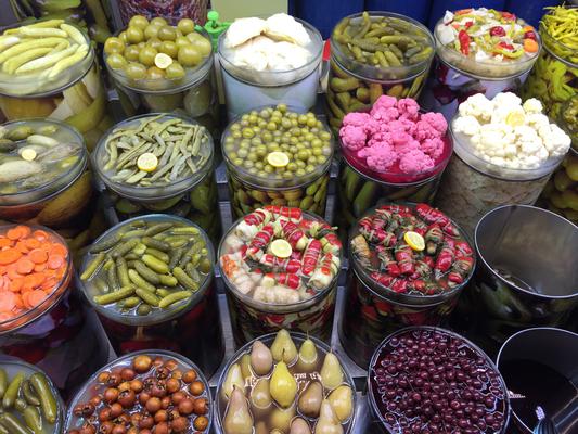 Bursa  トルコの漬物